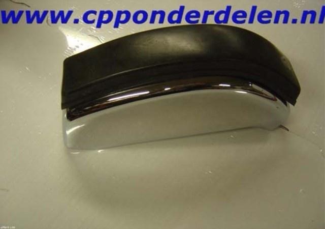 911070 Bumperguard achterzijde chroom met rubber