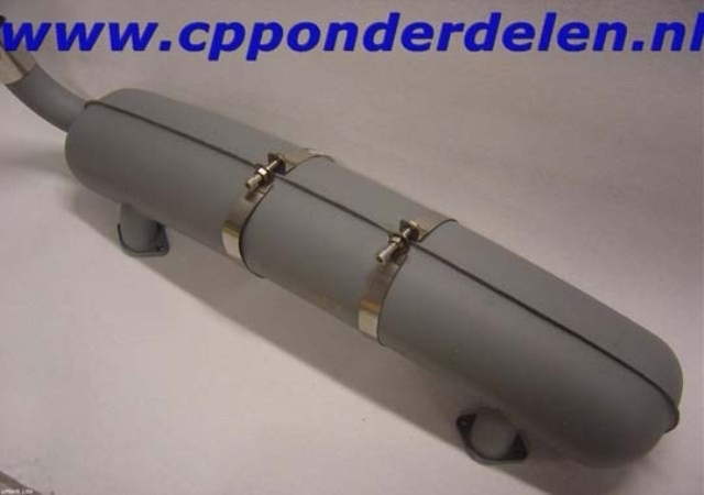 911044 Spanband uitlaatdemper 911 3.2 lang