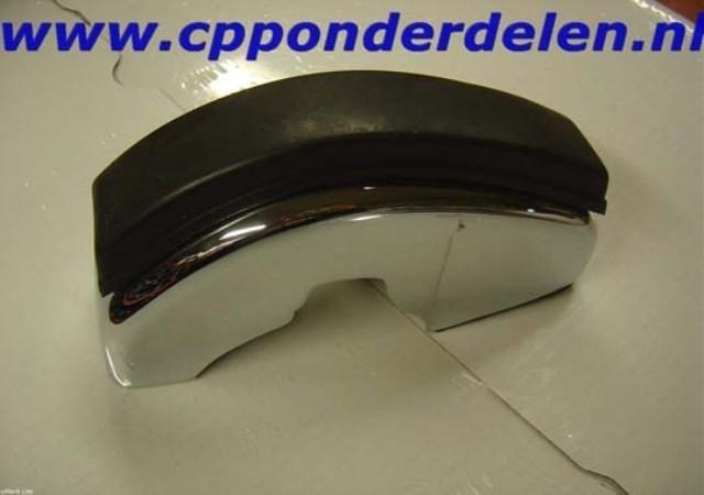 911067 Bumperguard voorzijde met rubber links S-lijst
