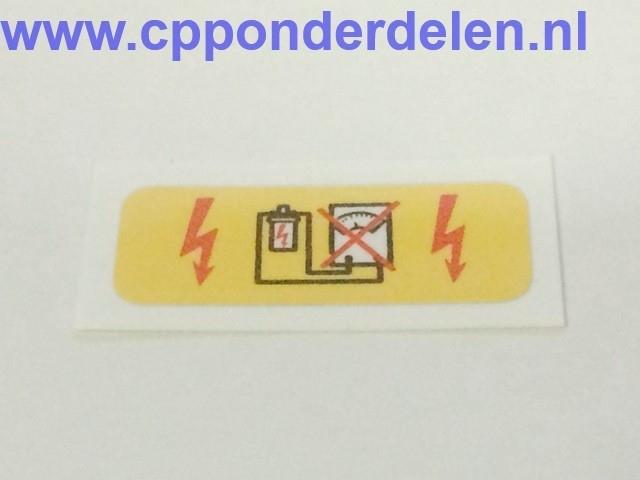 911673 Sticker Bobine