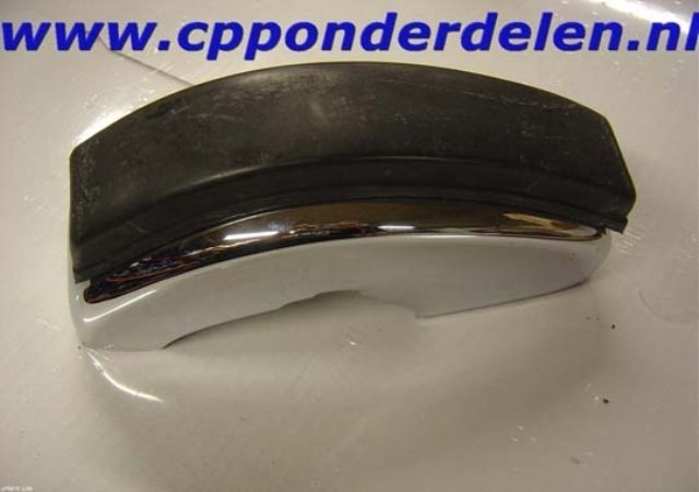 911065 Bumperguard voorzijde met rubber rechts T-lijst