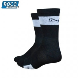 DeFeet Cyclismo Black Compressie sock