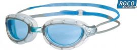 Zoggs Predator Blue-Silver Clear