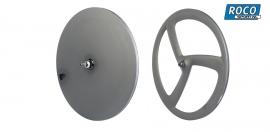 TT wheelset Disc rear 3 spoke front