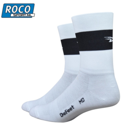 DeFeet Aireator High Top Sock White