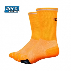 DeFeet Cyclismo Reflective Neon Orange