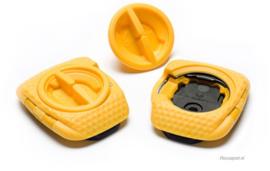 Speedplay Zero Walkable cleat set schoenplaat  geel