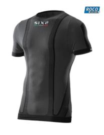 SIXS Classic Carbon korte mouw black TS1