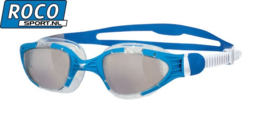 Zoggs Zwembril Aqua Flex Blauw/wit clear