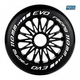 Evo G  skeeler/inline wiel Zwart 110mm