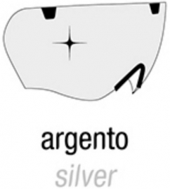 Kask Bambino PRO  Visor Silver / Spiegel