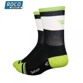 DeFeet Grupetta Lime sock