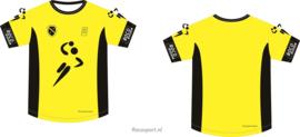 Handbal Niedorp Shirt korte mouw Geel