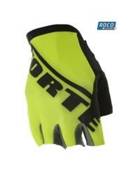 Forte Fiets handschoen Geel