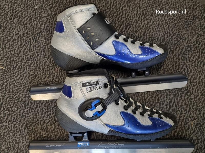 "Shorttrack schaats Edwards mt 40,5 + EHS Control 16,5"""