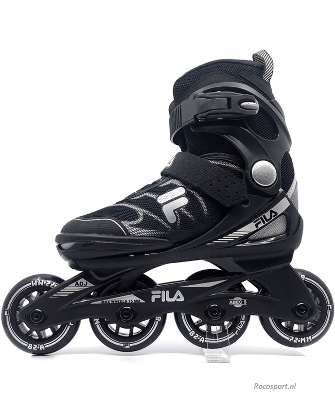 Fila J-One Black verstelbaar Skate