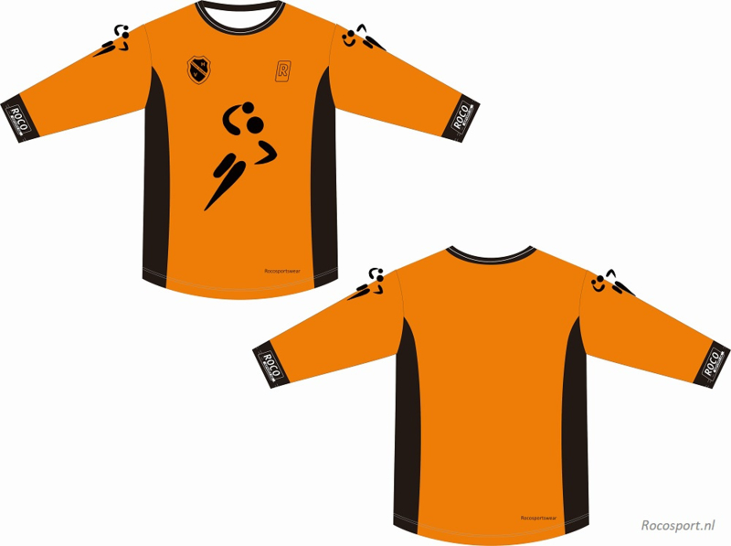 Handbal Niedorp Keeper Shirt lange mouw