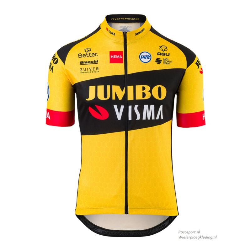 Jumbo Visma Hema shirt korte mouw