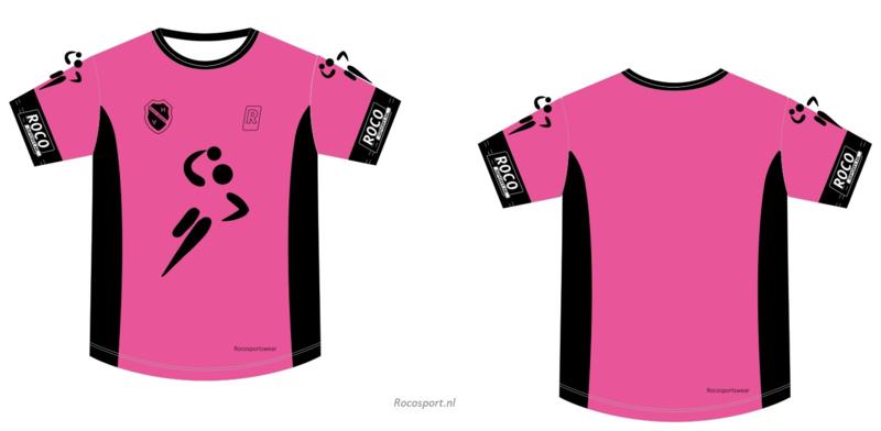 Handbal Niedorp Shirt korte mouw Pink