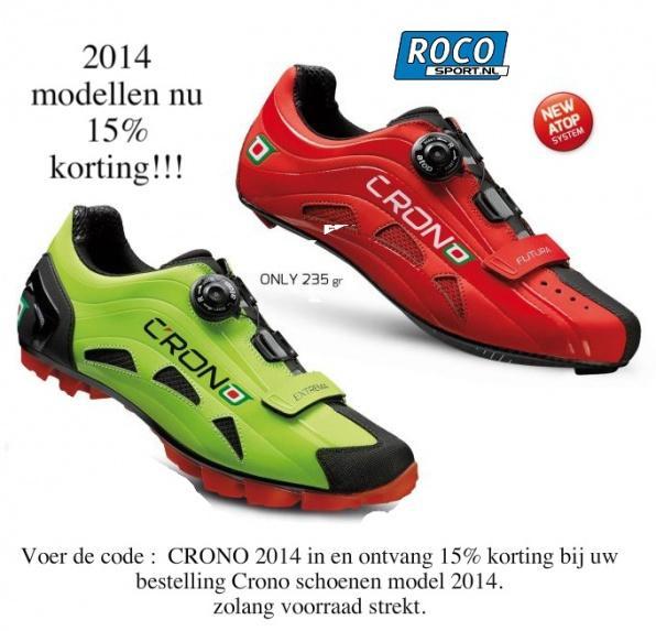 Crono fietsschoenen 2014 opruiming
