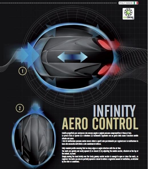KasK Infinity Aero control kaskhelmen.nl kaskhelmets Infinity.jpg