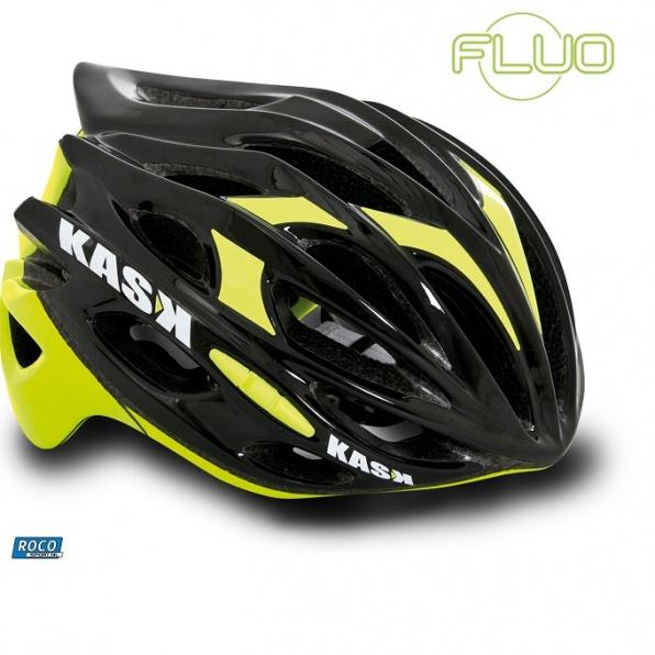 KasK Mojito Nero - Giallo Zwart - Geel Fluo Geel fietshelm Kaskhelmen.jpg