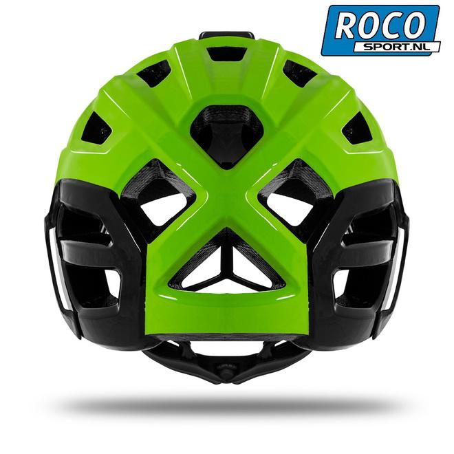 KasK Rex Mountainbike helm achterkant groen Rocosport.nl r.jpg