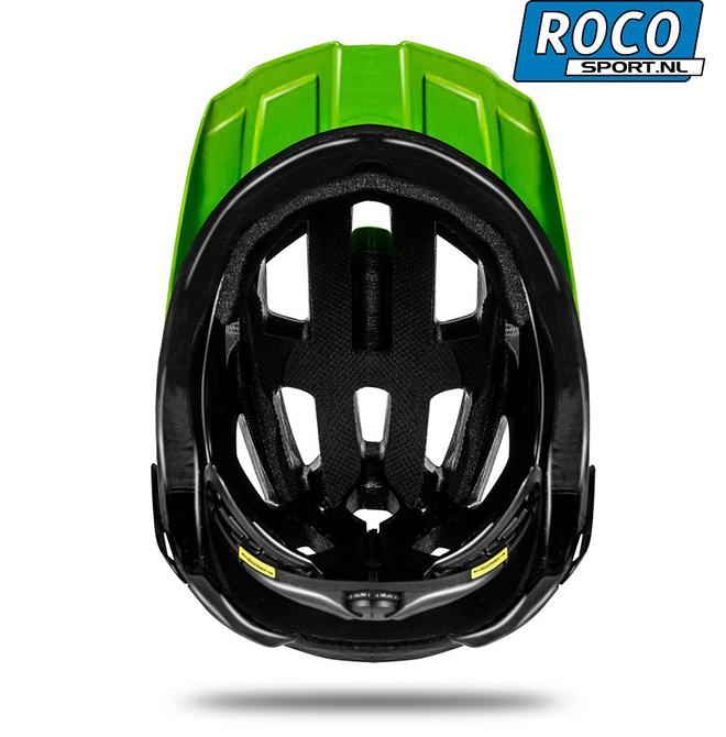 KasK Rex Mountainbike helm binnenkant groen Rocosport.nl r.jpg