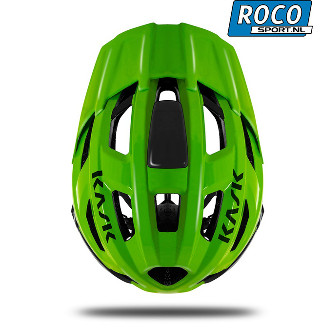 KasK Rex Mountainbike helm bovenkant groen Rocosport.nl r.jpg