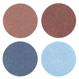 YOUNGBLOOD Pressed Mineral Eyeshadow Quad - Glamour Eyes