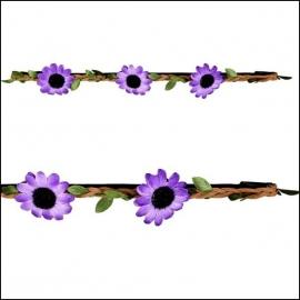 haarbandje sunnyflower purple