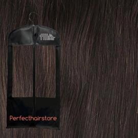 Topper hair extension kleur 1B