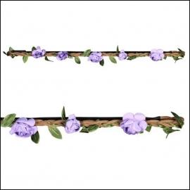 haarbandje little roses purple