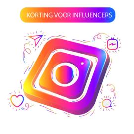 Korting influencers