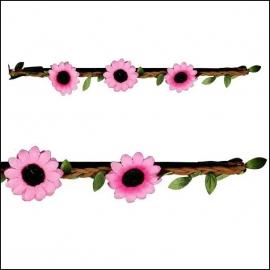 haarbandje sunnyflower lightpink