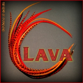 10 stuks lava mix