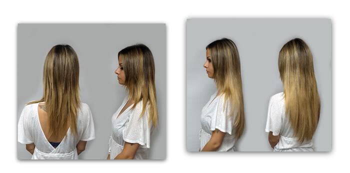 Chantal voor en na