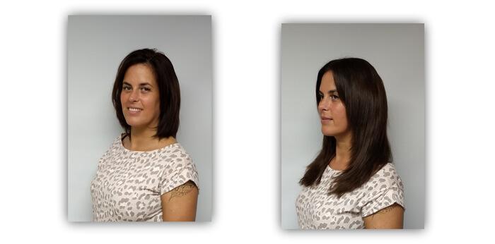 Sharon voor en na
