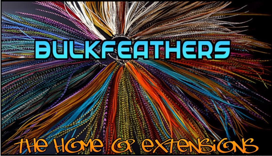 feathers 50 stuks