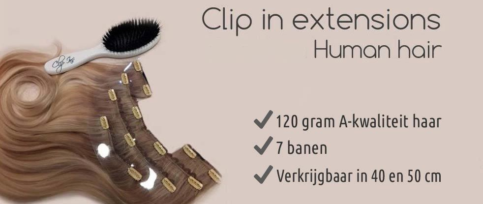 Clip in extension 7 banen