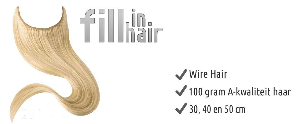 Fill in hair & Wire hair extension
