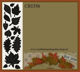 Craftables CR1336 Punch die: Autumn leaves