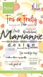 Clear stamps CS1030 - Marleen's Fris & Fruitig