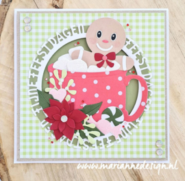 Craftables  CR1564 - Gingerbread dolls by Marleen