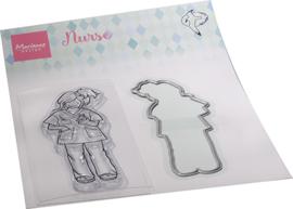 HT1661 - Hetty's Nurse (1 die + 1 stamp)