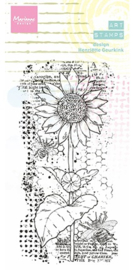MM1648 - Arts stamps Sunflower