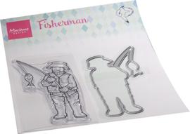 HT1663 - Hetty's Fisherman (1 die + 1 stamps)