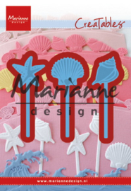 Creatables LR0602 Sea shells pins