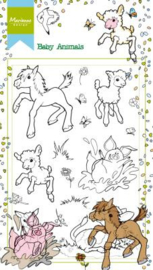 HT1630  Clear stamps -Hetty's baby animals