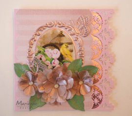 Creatables LR0546 Anja's beautiful flower set